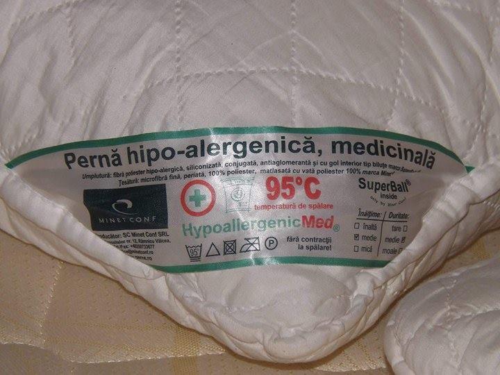 Burduf perna hipoalergenica